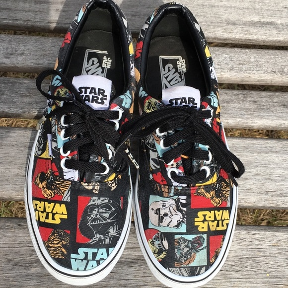 a0abec3adb Star Wars Vans Classic Repeat Era unisex sneakers.  M 5ac92922739d48d7f1857137